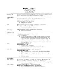 Objective For Medical Assistant Resume Samples Sample New