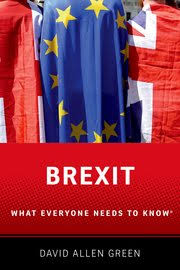 Oxford University Press Uk Exam Copy by Brexit David Allen Green Oxford University Press