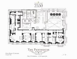 100 The Penthouse Chicago Floorplans Lincoln Park 2550 IL