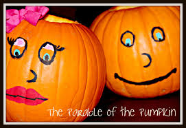 Pumpkin Patch Parable Craft by Blue Skies Ahead The Parable Of The Pumpkins