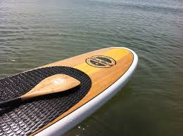 Sup Deck Pad Uk by 11ft Bamboo Sup With White Rails