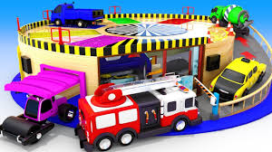 100 Youtube Trucks For Kids Download Thumbnail For Colors For Children To Learn With Toy Street
