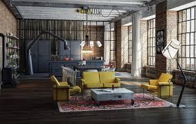 wallpaper design style interior kitchen living room