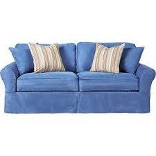 cindy crawford home beachside denim sofa rooms to go sofas