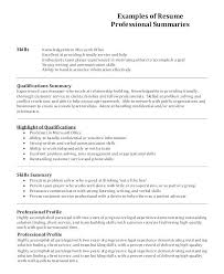 Examples Of Written Resumes How To Write Resume Profile In Example Sample Someone