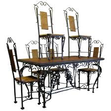 Exceptional Wrought Iron Ivy Motif Table And Six Chairs, France ... A 1940s Vintage Fixer Upper For Firsttime Homebuyers Decor Extendable Solid Oak Table 4 X Queen Anne Chairs Sold Country French Ding Set Table Leaves 6 Duncan Fife Ding Room Set Dingroomsetduncanphyfe1940s9 Baker 7 Pieces Chairish Mahogany Room Luxury Antique And Duncan Phyfe Chairs Cottage Carved Oak 2 Amazoncom Winsome Wood 94386 Halo Back Stool Kitchen Bernhardt Fniture Modern
