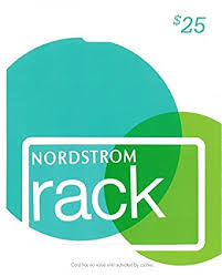 Amazon Nordstrom Rack Gift Card $25 Gift Cards