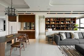 Contemporary Taiwan Apartment Showing Luxury And Simplicity In Interior Design