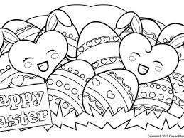 13 Cute Easter Coloring Pages Disney