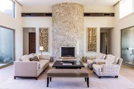 steinwand wohnzimmer eine dekorative wand voller charakter