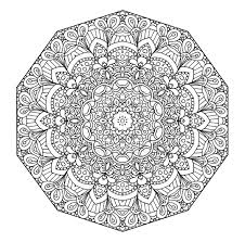 Cool Mandala Coloring Pages Online