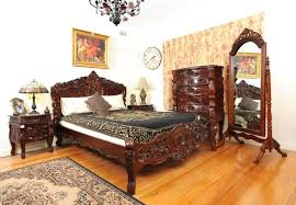 Mahogany Queen Bed Frame Queen Platform Bed With Drawers T M L Bed
