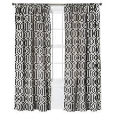 White And Gray Curtains Target by Curtain Panel Threshold Target