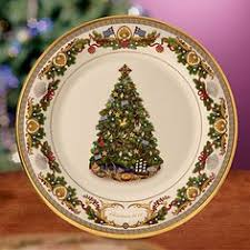 Lenox Christmas Trees Around The World This Year Plate Is Greece Limited Edition