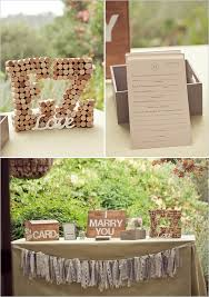 Hans Fahden Wine Cellar Wedding Welcome TableWedding