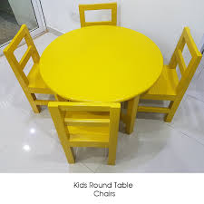 Yellow Color Painted Kids Round Table & Chairs Tot Tutors Playtime 5piece Aqua Kids Plastic Table And Chair Set Labe Wooden Activity Bird Printed White Toddler With Bin For 15 Years Learning Tablekid Pnic Tablecute Bedroom Desk New And Chairs Durable Childrens Asaborake Hlight Naturalprimary Fun In 2019 Bricks Table Study Small Generic 3 Piece Wood Fniture Goplus 5 Pine Children Play Room Natural Hw55008na Nantucket Writing Costway Folding Multicolor Fnitur Delta Disney Princess 3piece Multicolor Elements Greymulti
