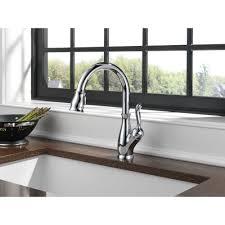 Delta Leland Bathroom Faucet Bronze by Delta Faucet 9178 Dst Leland Polished Chrome Pullout Spray Kitchen