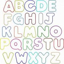 Free Fancy Bubble Letters A Z to Draw Free
