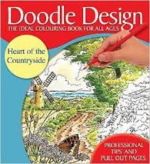Doodle Design Heart Of The Countryside Colouring Book