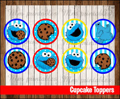 80% OFF SALE Cookie Monster Party Cupcakes Toppers Instant Download ... Monster Truck Cupcake Toppers Wrappers Etsy Blaze And The Machines Edible Image Cake Topper Amazoncom Monster Toppers Party Krown 24 Jam Rings Cupcake Toppers Cake Birthday Party Favors Truck Mudslinger Boys Birthday Party Cupcake Wrappers And Easy Cakes Ideas Classic Style Decoration Little Birthday Personalised Icing Gravedigger Byrdie Girl Custom