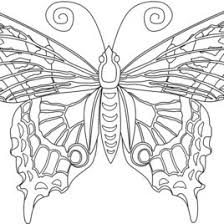 7 Best Images Of Printable Adult Coloring Pages Butterflies Free