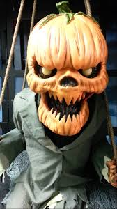 Spirit Halloween Animatronics 2014 by Spirit Halloween Pumpkin Nester Youtube