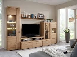 ideal möbel wora 5 teilige wohnwand front in eiche bianco