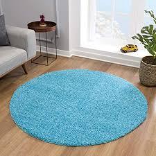 impression teppich rund teppiche fürs wohnzimmer flur schlafzimmer kinderzimmer babyzimmer hochwertiger öko tex zertifizierter
