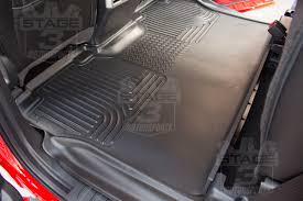 Chevy Colorado Weathertech Floor Mats by 2015 2018 F150 Supercrew Husky Liners Weatherbeaterï Rear Seat