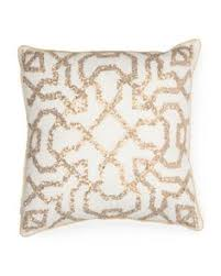 Tj Maxx Christmas Throw Pillows by 16x16 Made In India All Over Beaded Pillow Decorative Pillows