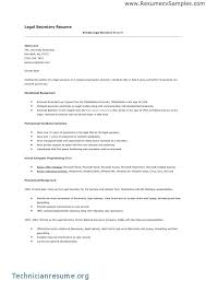 Resume Objective For Secretary Administrative Examples Medical
