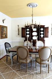 This Is My New Simpler French Style Chandelier The Old One Had A Lot To It And Blocked Pretty Antique Hutch Your Eye Was Automatically Drawn