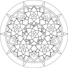 Mandala Coloring Pages Anxiety