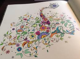 Secret Garden Coloring Book Is Great When Stoned