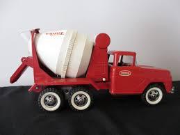Vintage Tonka Concrete Cement Mixer Delivery Toy Truck | Vintage ...