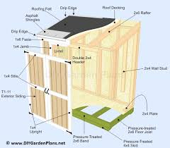12x12 Shed Plans Pdf by Diy Lean To Shed Build It Yourself Guides And Plans