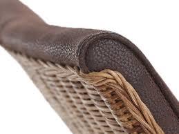 voglrieder rattanstühle set antonio 4 stück polsterstühle esszimmer stühle braun grau oder schwarz cognac
