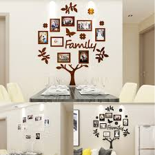 Details About DIY 3D Family Wedding Tree Photo Pictures Collage Frame Wall Art Home Decor !