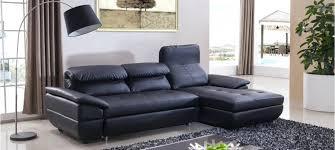 canape simili cuir noir canape canape simili cuir convertible canapac dangle droit en