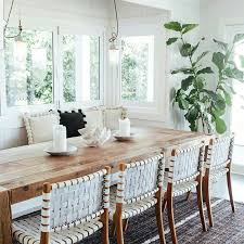 the dining room inspiring white oak table and chairs how to with