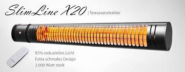 elektro heizstrahler schlank ip65 regendicht vasner