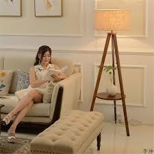 nordic massivholz led boden le moderne holz tisch schlafzimmer wohnzimmer boden licht indoor decor stehend le hause leuchten