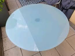 reserviert glastisch 120cm tisch rund esstisch esszimmer glas