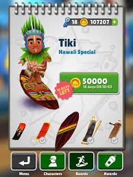Subway Surfers Halloween Update by Tiki Subway Surfers Wiki Fandom Powered By Wikia