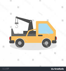 100 Tow Truck Vector Cartoon Silhouette Illustration RONGHOLLAND