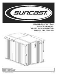 Suncast Resin Glidetop Outdoor Storage Shed Bms4900 by Suncast Glidetop Sliding Lid Shed Walmart Com