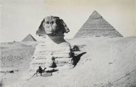 Image Photo Of The Sphinx And Pyramids Taken By David Gardiner In 1906 From