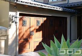 Faux Stained posite Garage Doors and Out Swing Carriage Doors
