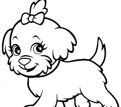 Cat Coloring Sheets Dogs Children Pages And Cats Of Dog House