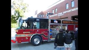 100 Rochester Truck Nh Arrival Of New Engine 5 To NH FD Fire Headquarters YouTube